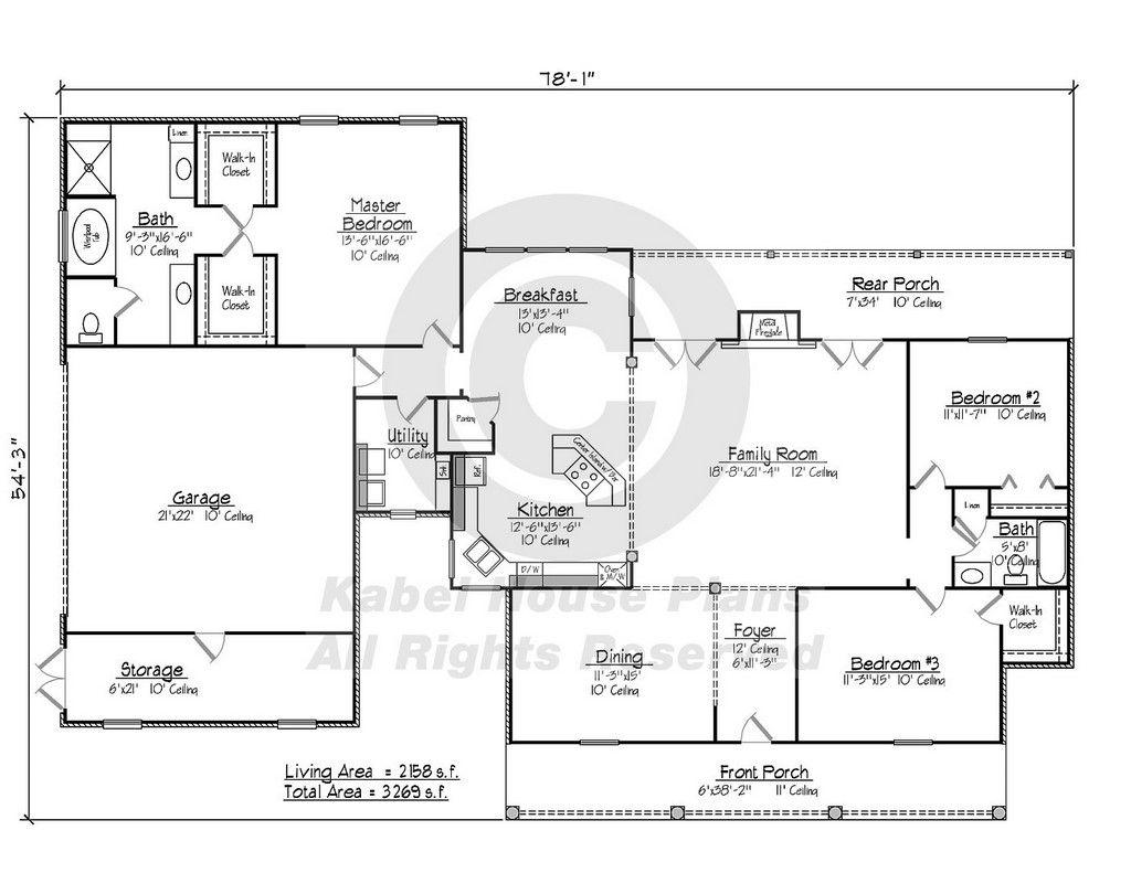 Azalea - Acadian House Plans Louisiana House Plans   Home is where ...