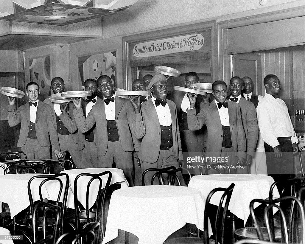 Here S The Lineup Of Waiters Who Serve You At Small S Paradise In Harlem Harlem Renaissance New York Daily News