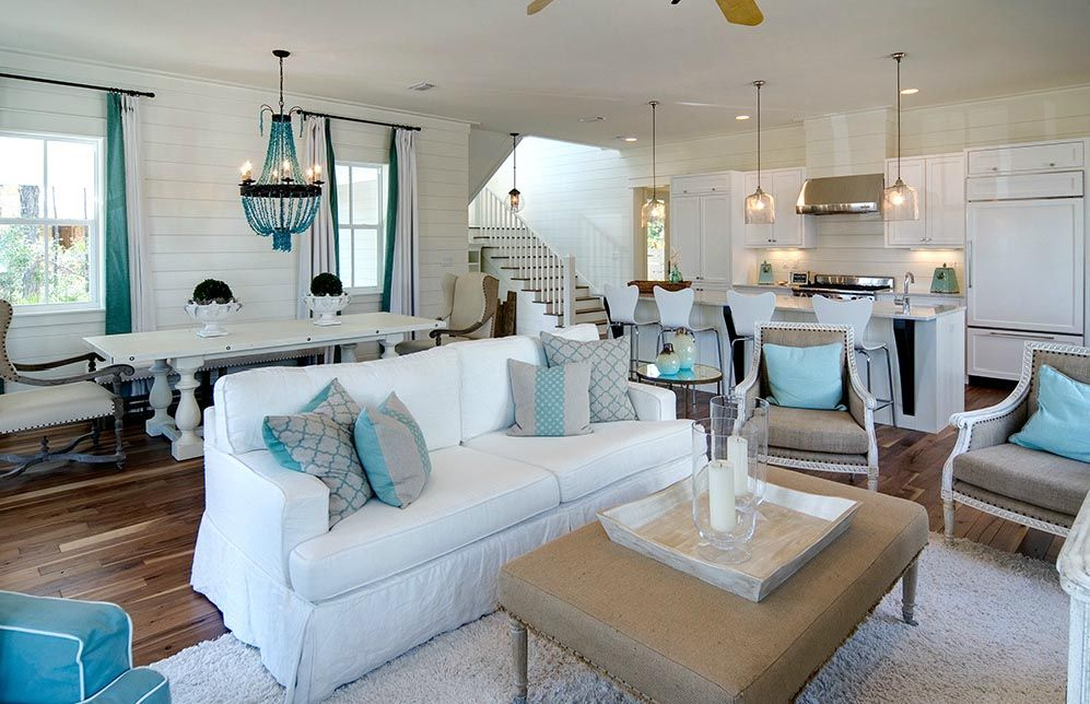 Soothing beach interior - How to Get a Chic Beach Look in Your Home ...