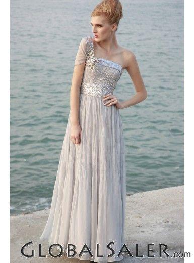 light gray simplicity. #weddingdress | Going to the Chapel ...