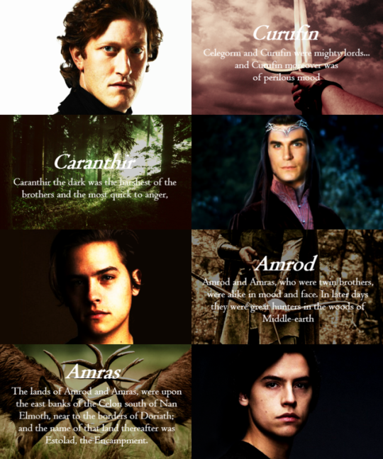 The Seven Sons Of Fëanor Were Maedhros The Tall; Maglor