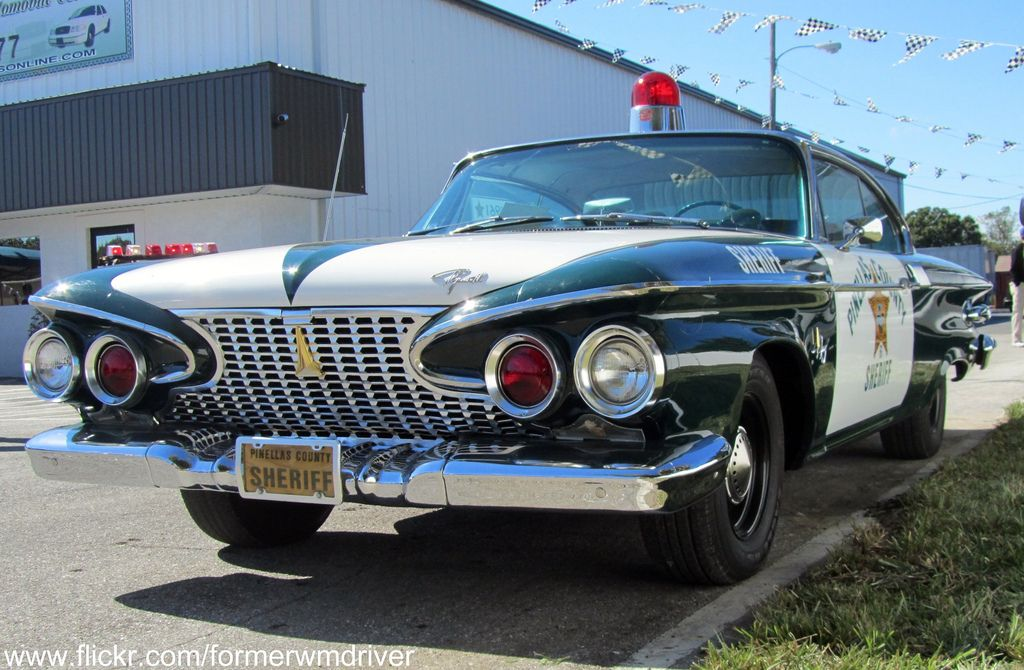 1961 Plymouth Fury Pinellas County Sheriff 61