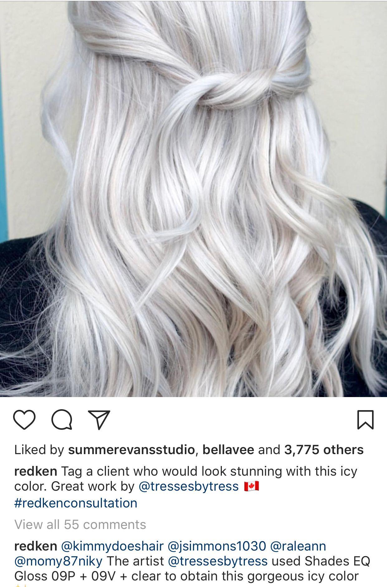 Pin Von Silke Körner Auf Weiße Haare Färben Haarfarben Weißes