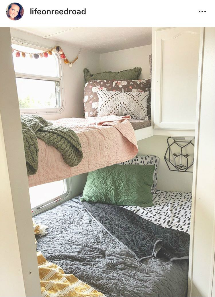 Bunkhouse Decorating Ideas RV Life Military Style