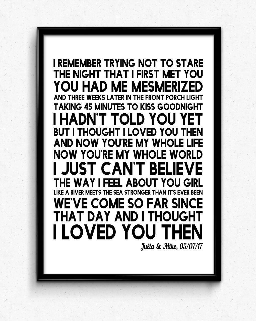 14++ Wedding song lyrics print ideas in 2021