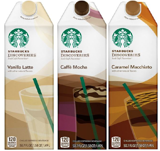1 Off Starbucks Coffee Coupon Discoveries Iced Café