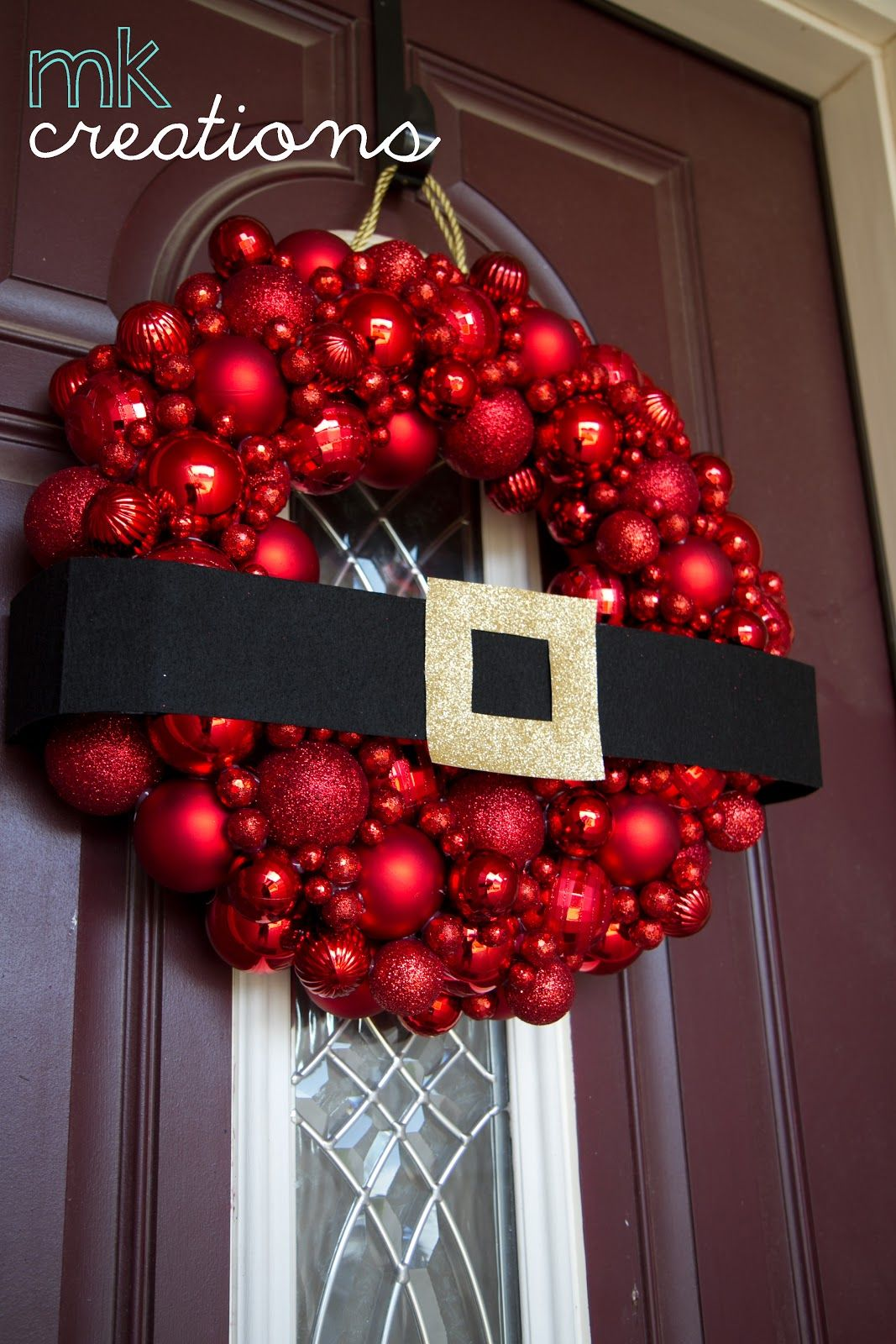 DIY: Ornament WreathSupplies: Hobby Lobby 12 Design Ideas