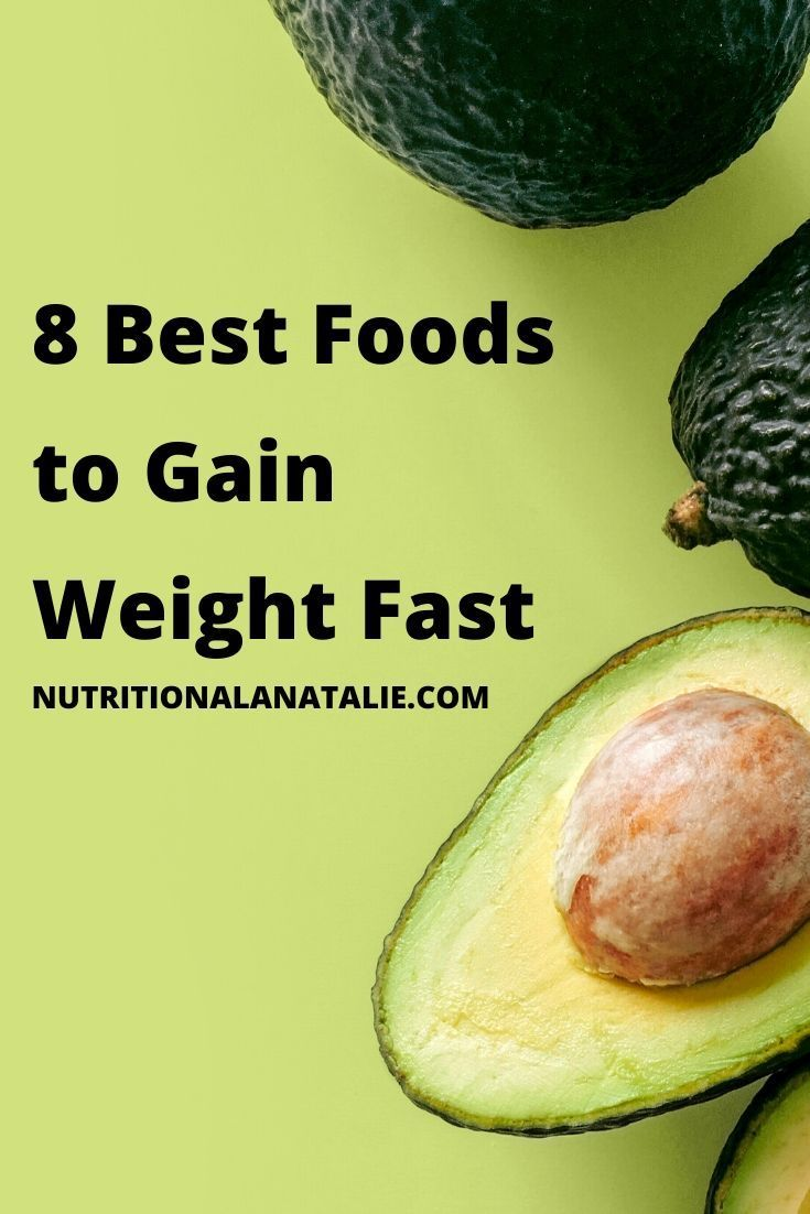 Healthy Weight Gain Meal Plan| Foods to Gain Weight Fast