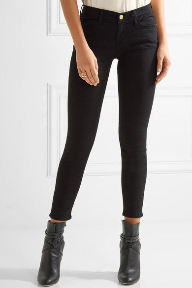 2018 Unisex For Sale Cheap Big Discount Le Color Cropped Mid-rise Skinny Jeans - Black Frame Denim Clearance With Mastercard Real Sale Online ybzVX7Xx