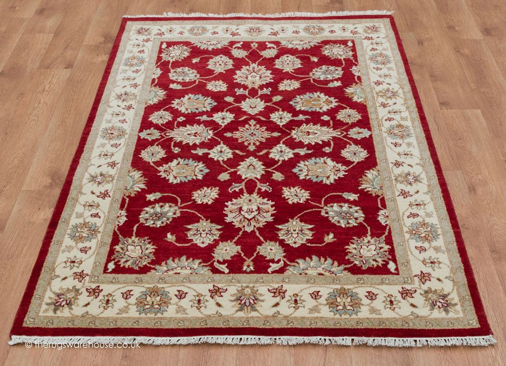 On Royal Ziegler Red Rug 123 X
