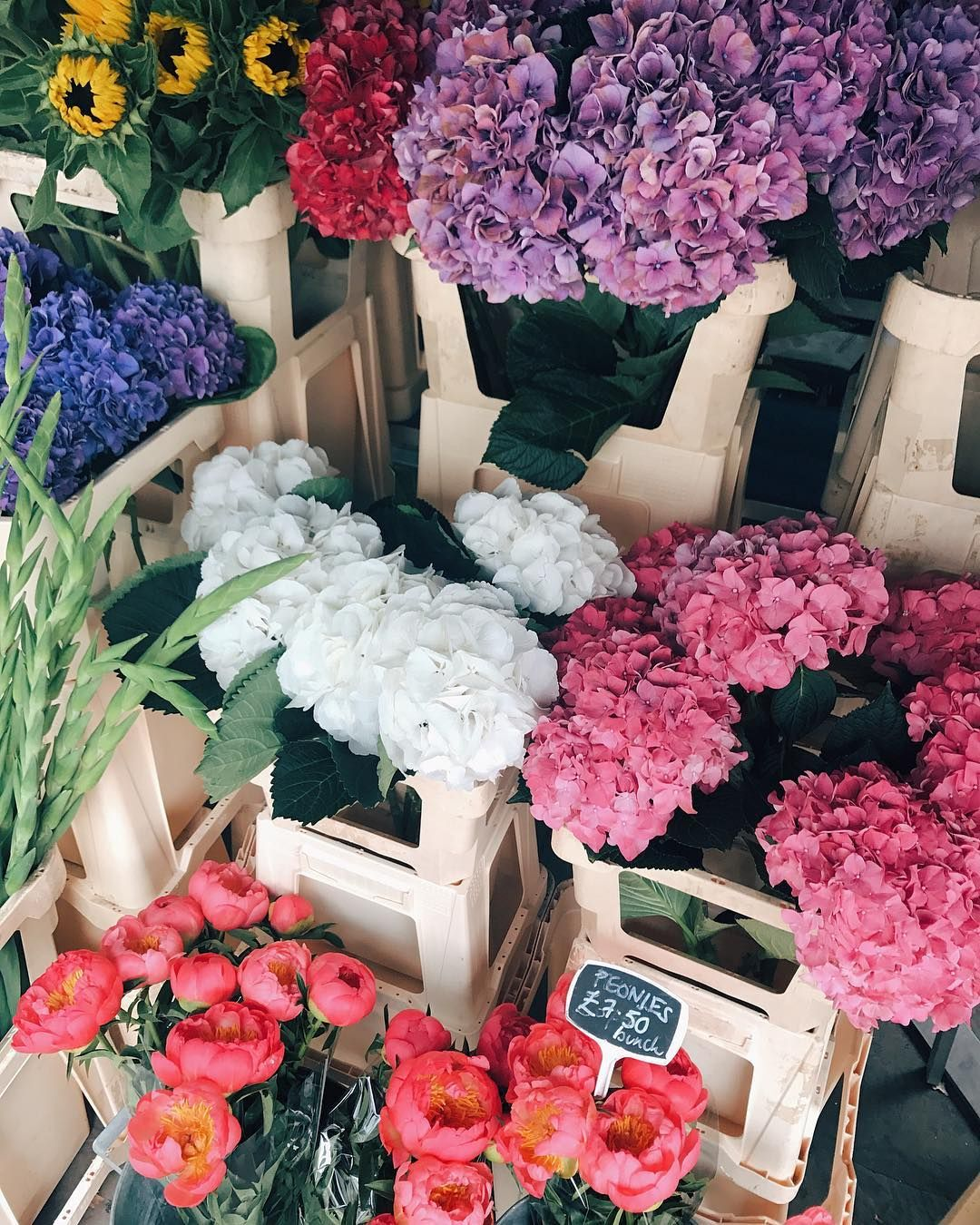 Yes to fresh flowers!