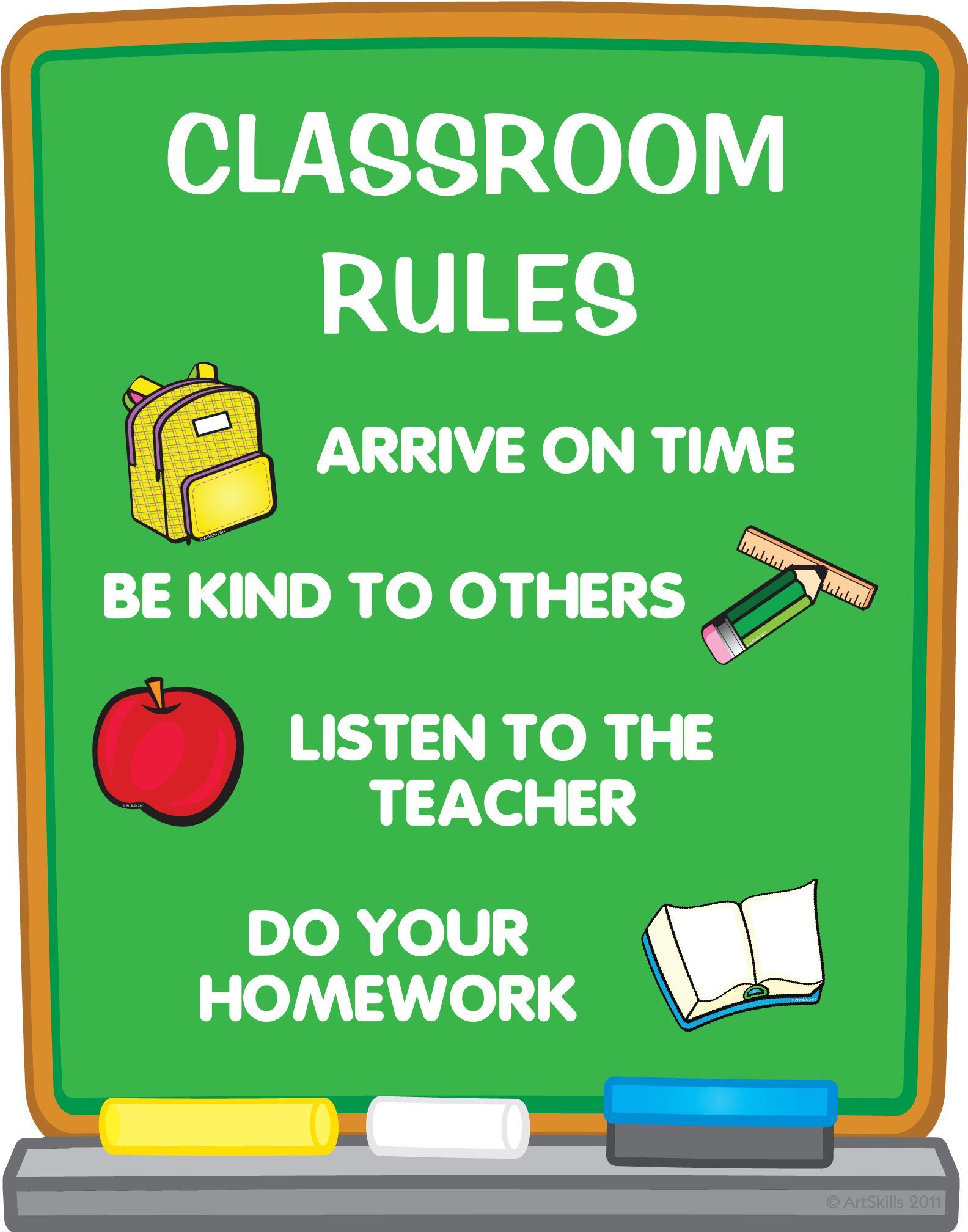 Create A Classroom Rules Poster