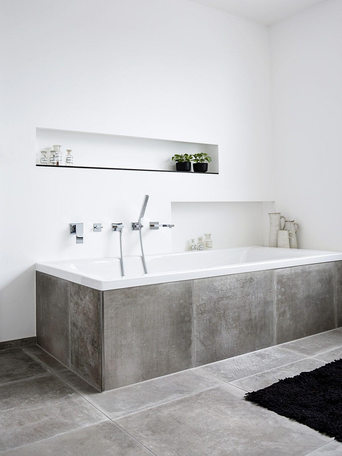 Badideen ohne badewanne stein auf stein  der neue wellnesstempel  badezimmer  pinterest