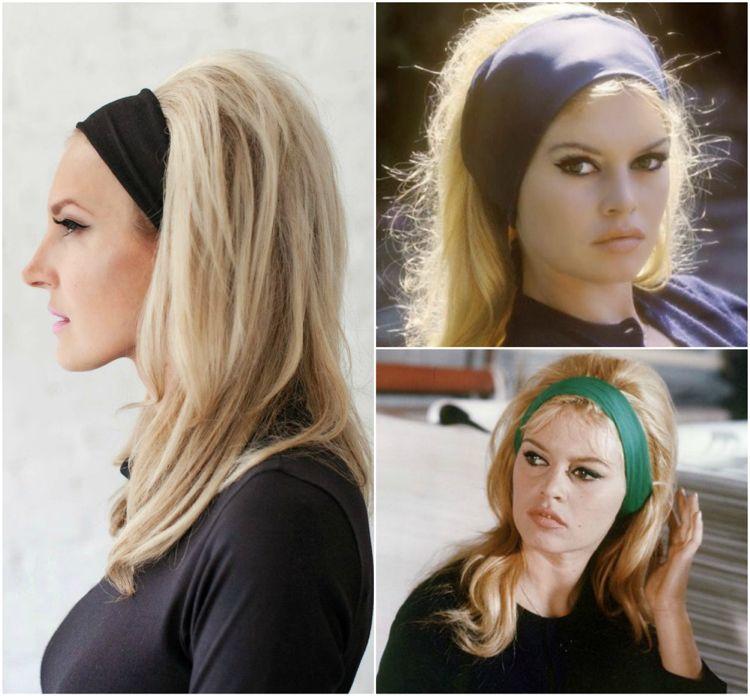 Brigitte Bardot Frisur Mit Haarband Retro 60er Jahre 60er Jahre