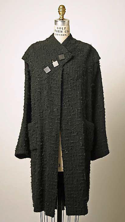 Coat Robert Piguet  (French, born Switzerland, 1901–1953) Date: 1935–37 Culture: French Medium: wool
