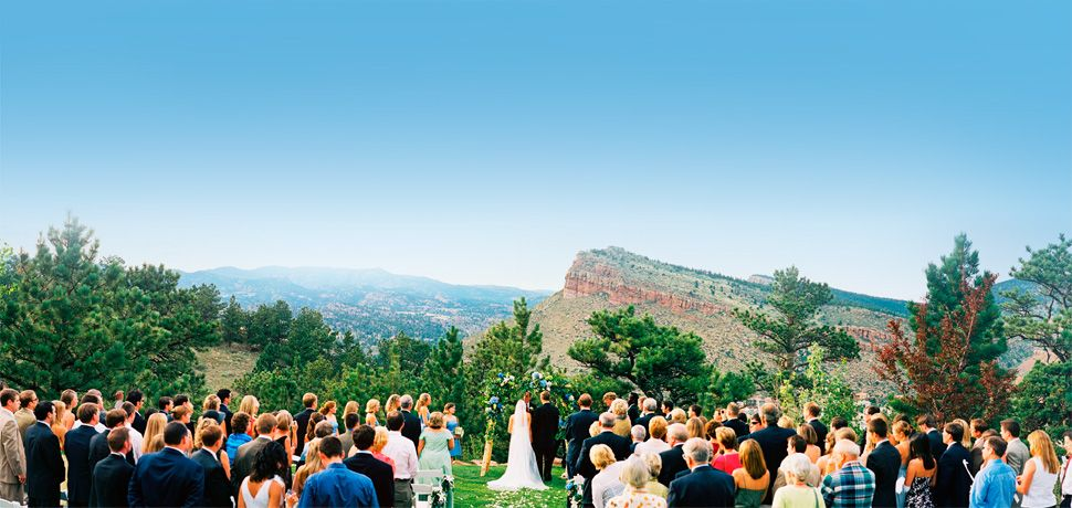A Colorado Wedding And Event Reception Site In The Foothills Of S Rocky Mountains
