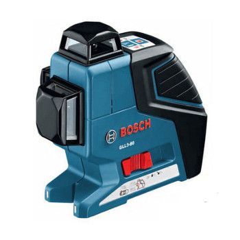 Bosch Gll3 80 360 Degree 3 Plane Leveling And Alignment Line Laser Laser Levels Bosch Black Friday Tools
