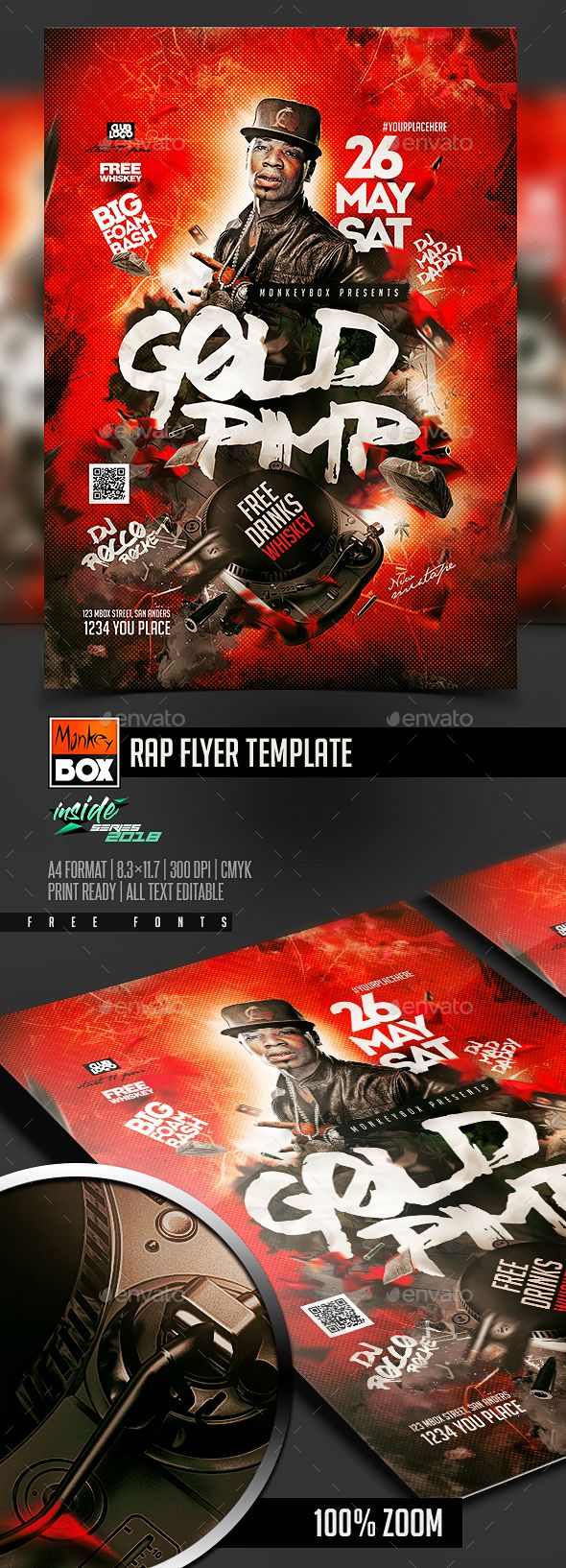 rap flyer template pinterest flyer template template and flyer