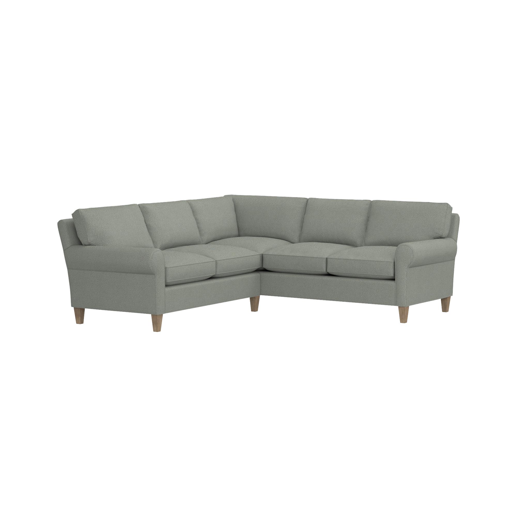 Shop montclair 2 piece sectional sofa