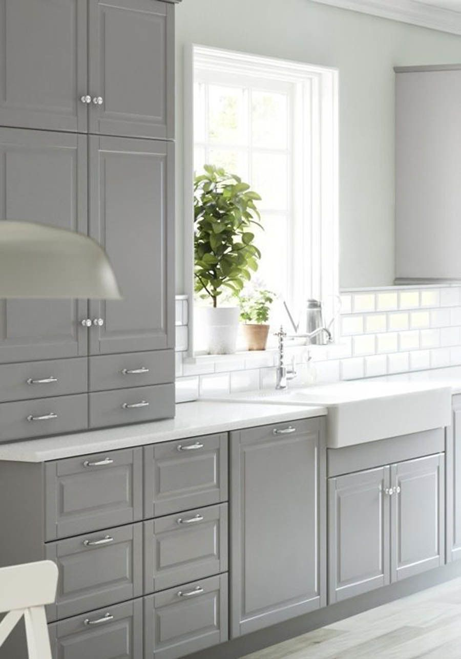 Ikea Sektion Kitchen Cabinets Tour A Home That Checks All Our Favorite Design Trend Boxes  Gray