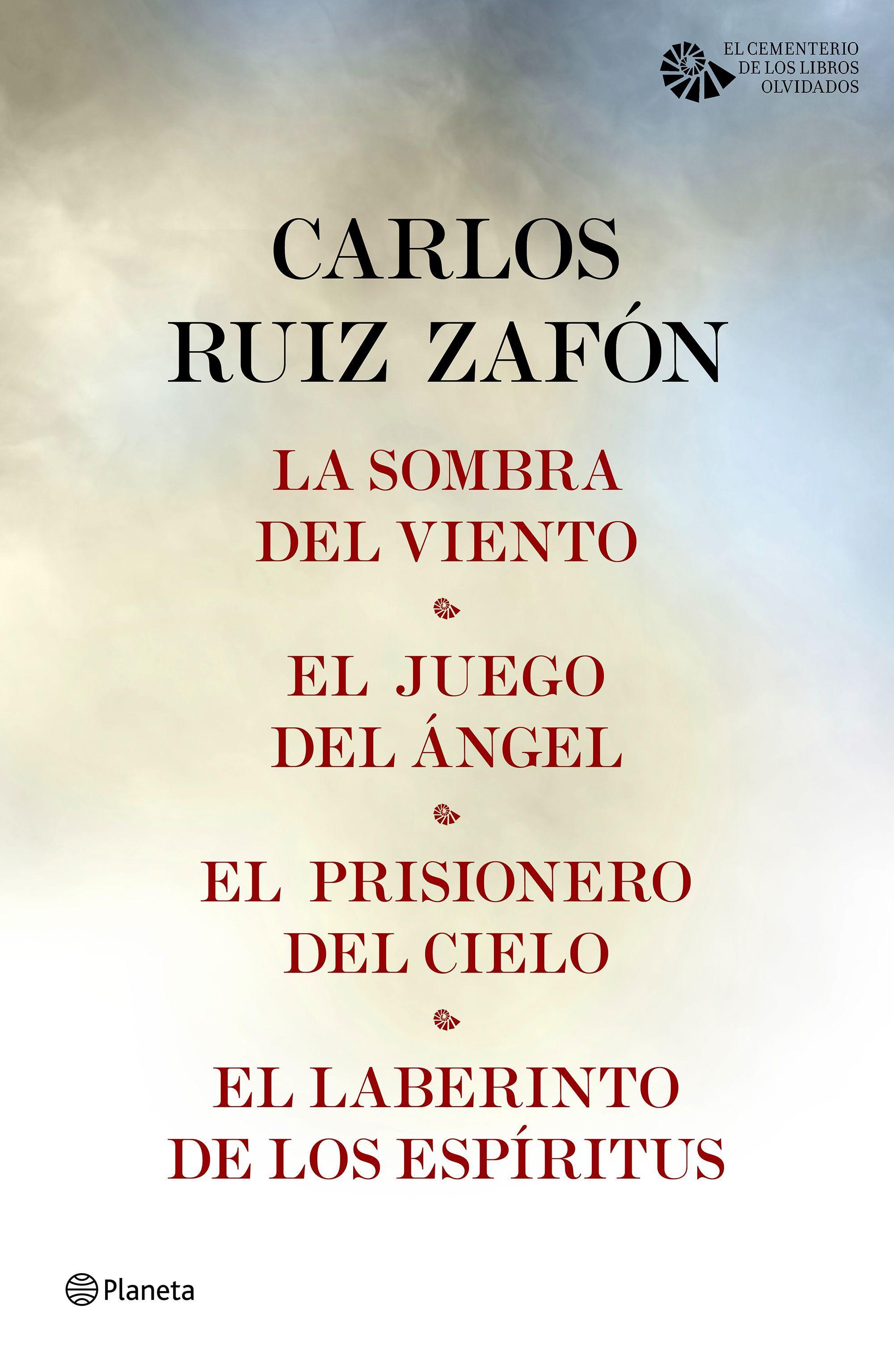 Tetralogía El Cementerio de los Libros Olvidados (pack), de Carlos ...
