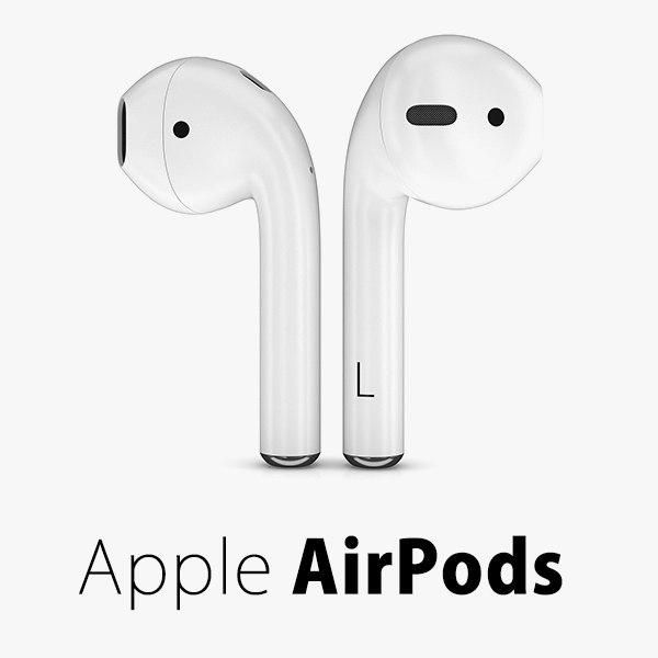Apple Airpods Wireless 3d Model Ad Airpods Apple Model Wireless