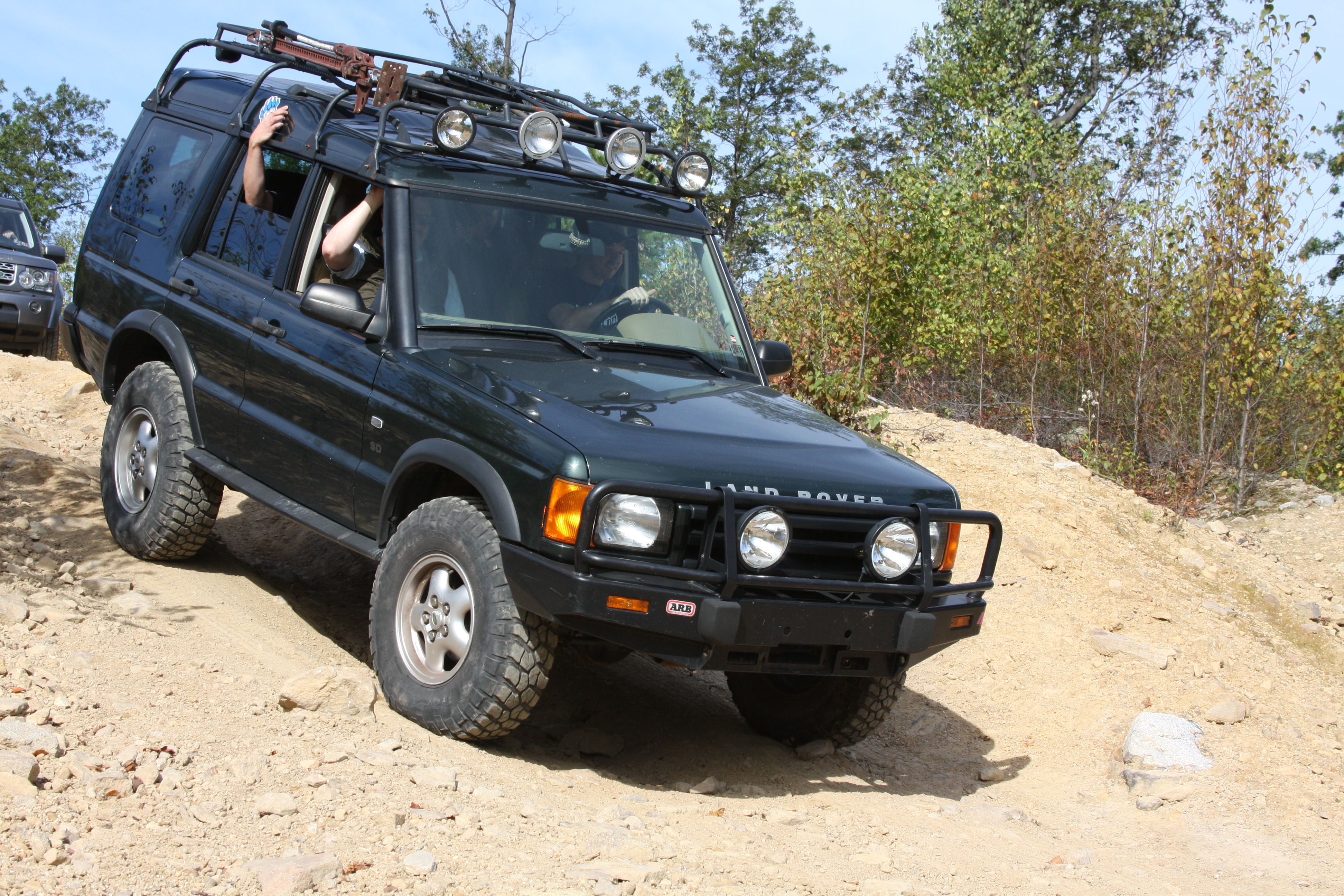 2012 Land Rover Off Road Event