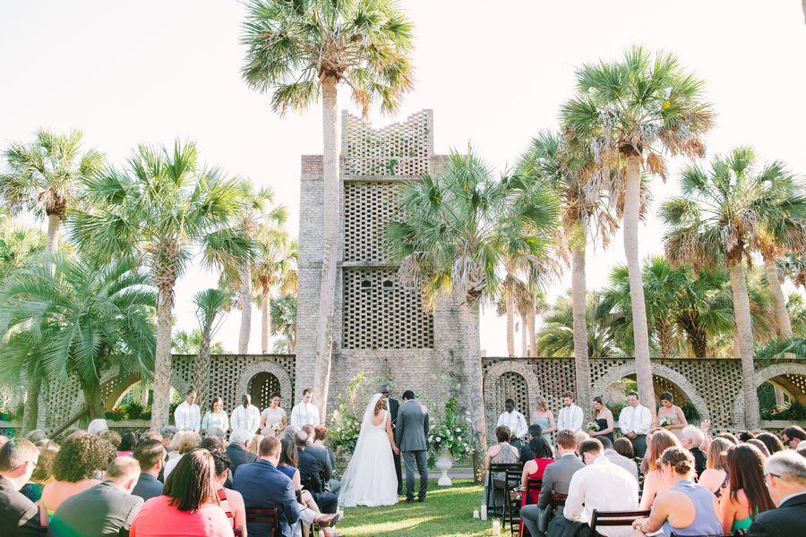 Atalaya Castle Wedding In Murrells Inlet South Carolina A Lowcountry Wedding Blog Magazine Charleston Savannah Hilton Head Myrtle Beach Myrtle Beach Wedding Wedding Venues Beach Castle Wedding