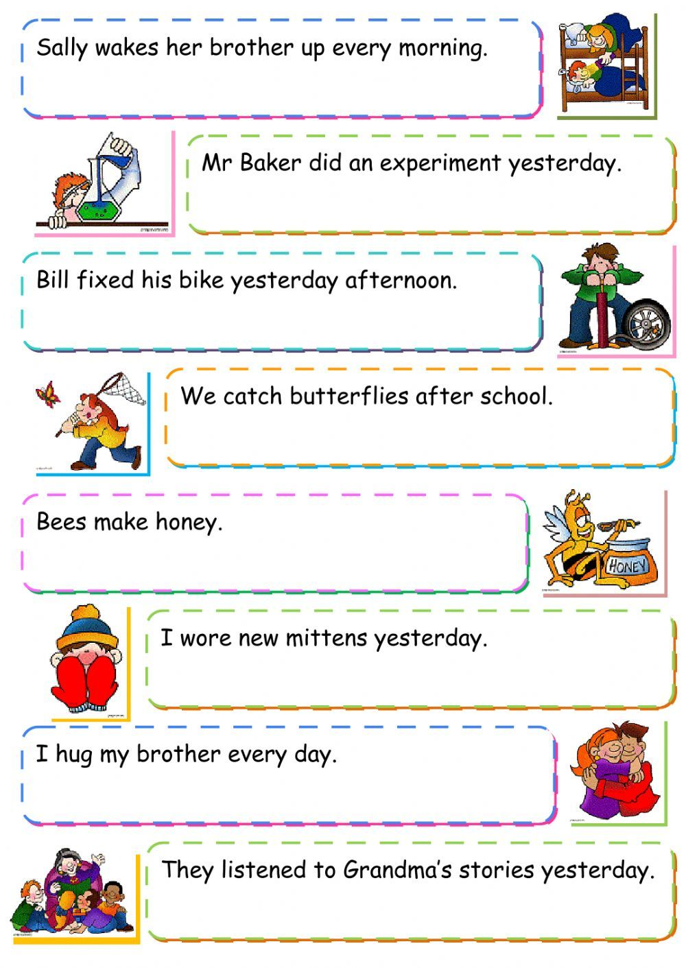 Passive voice interactive and downloadable worksheet. You can do the ...
