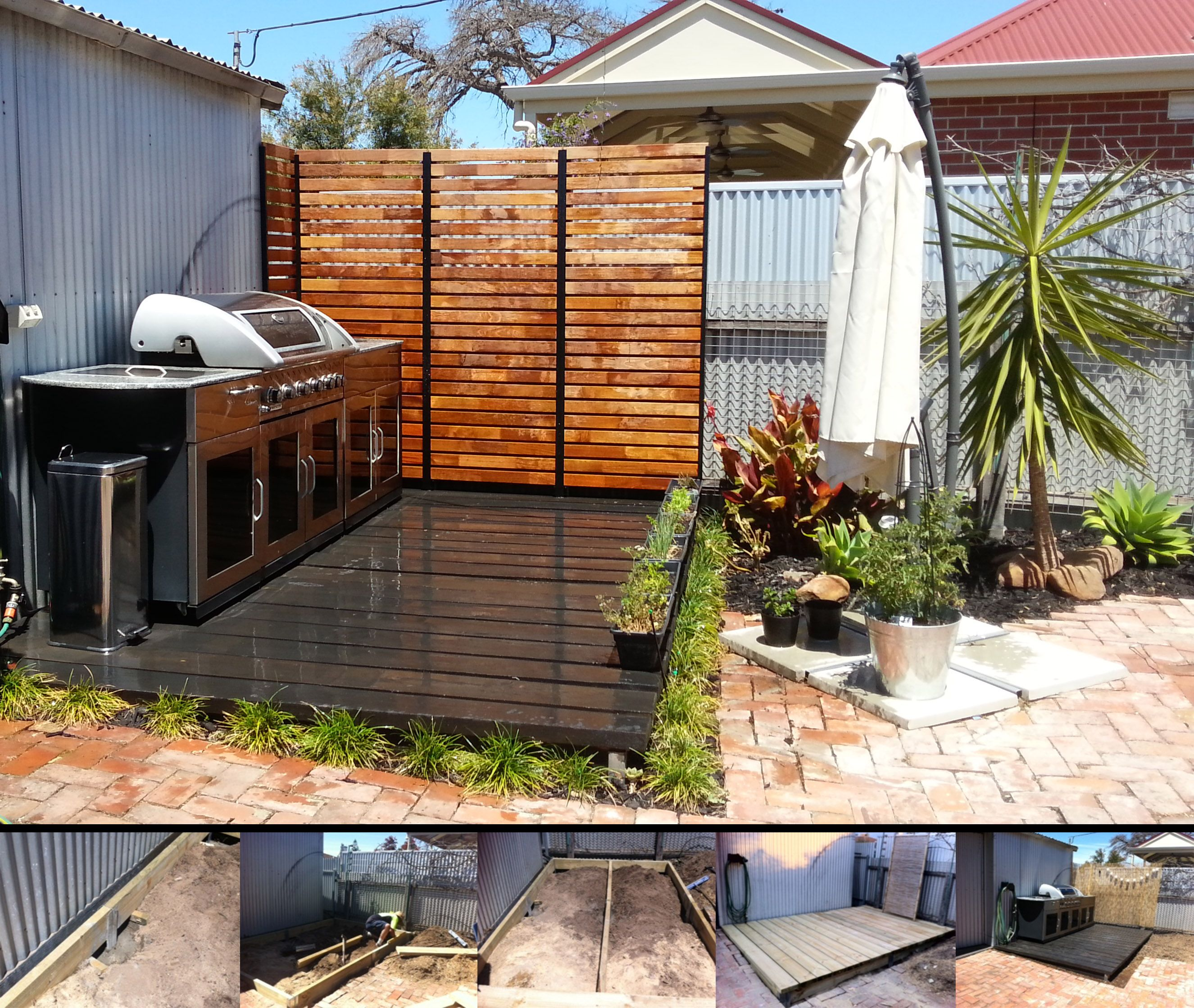 Brentons New Deck Uses Retain It (Single Height) To Secure The
