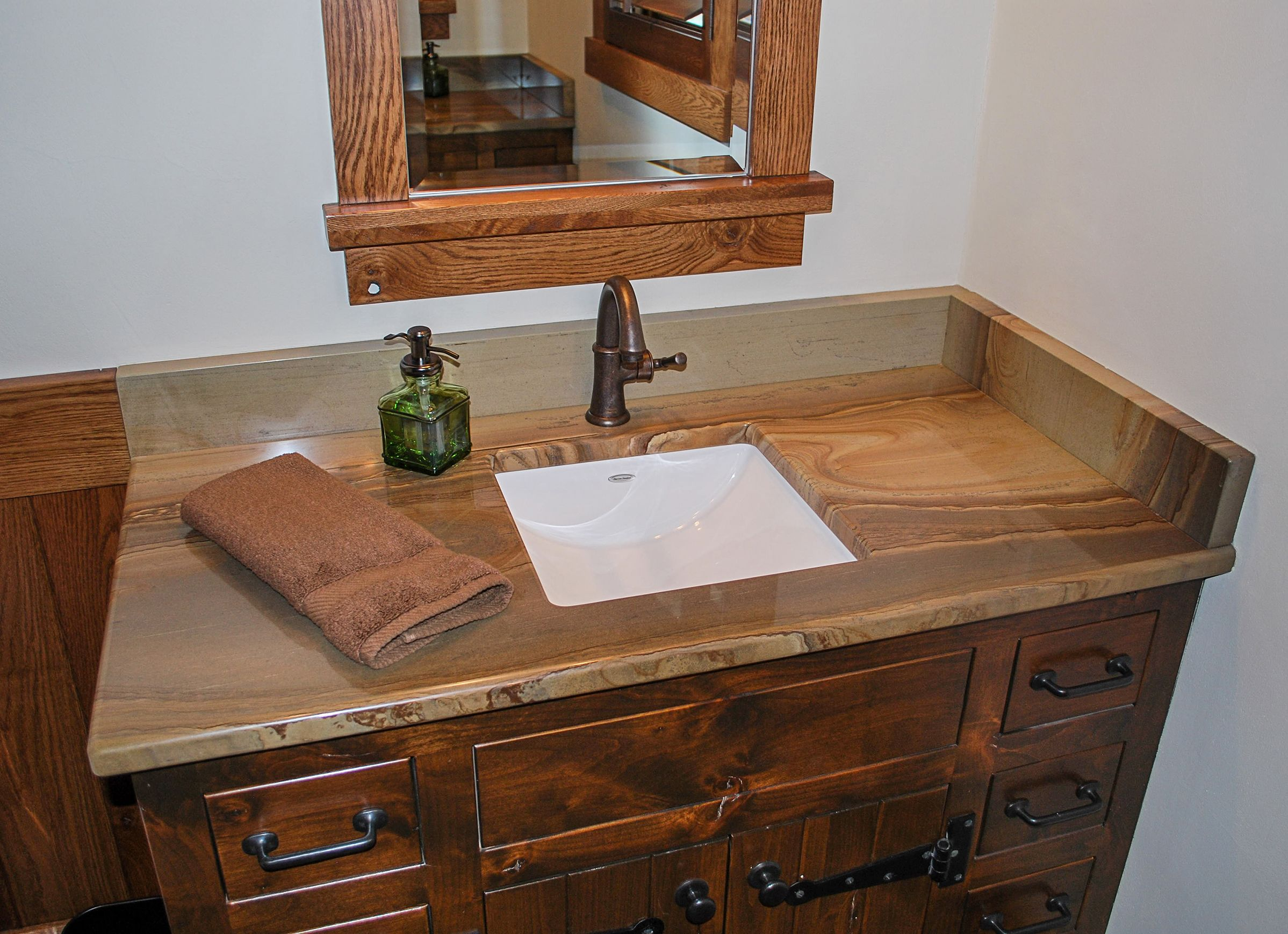 Brentwood Natural Stone Countertops Rustic Lake Houses Building A New Home