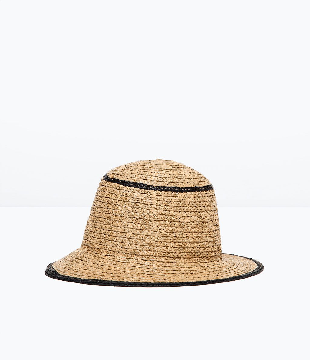 919cea13 RAFFIA HAT from Zara | WARDROBE | Raffia hat, Beachwear for women, Hats