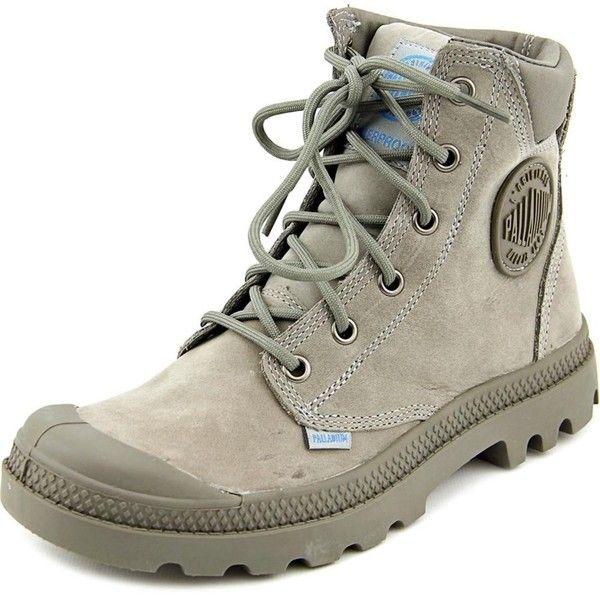 Palladium Palladium Pampa Cuff Wp Lux Women Round Toe Synthetic Boot ($72)  ❤ liked