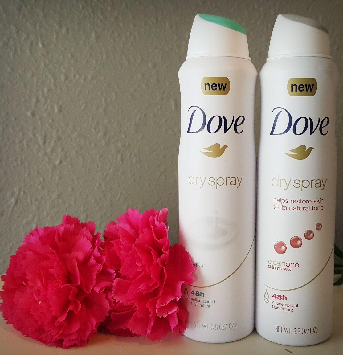 New Dove Dry Spray Antiperspirant Antiperspirant Spray Restore Skin