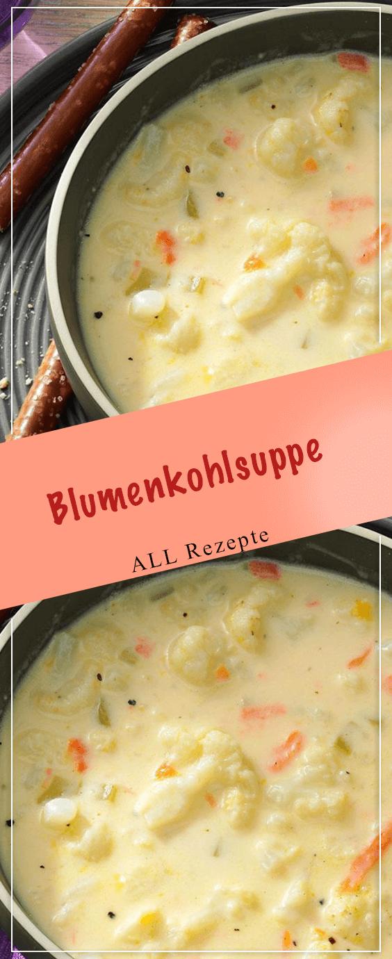 Photo of Blumenkohlsuppe.#Kochen #Rezepte #einfach #köstlich