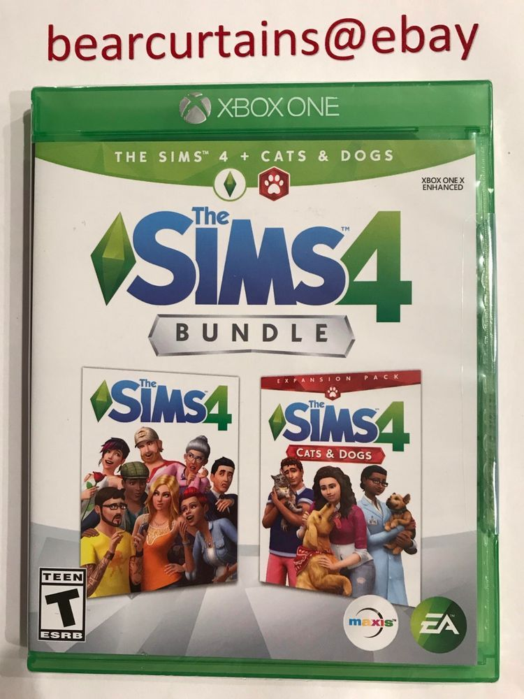 Sims 4 Cats Dogs Bundle Xbox One Brand New Factory Sealed Fast Ship W Tracking Sims 4 Xbox One Dog Cat