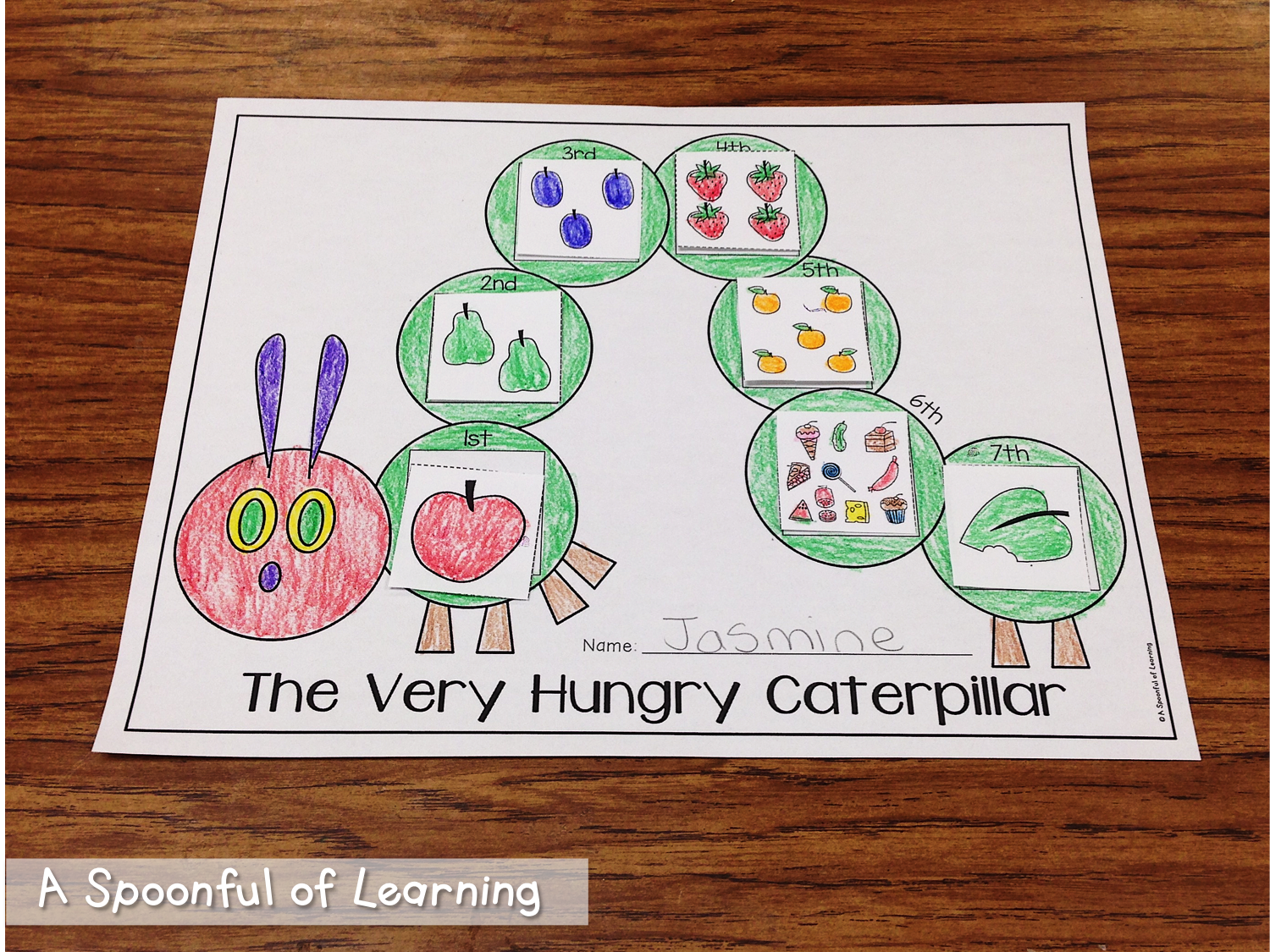 Insects Math and Literacy Activities and Crafts too! The Very Hungry ...