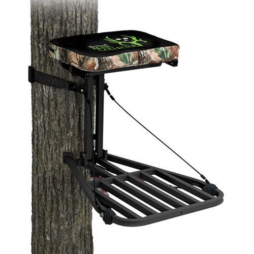 Ameristep Bone Collector Aluminum Hang On Tree Stand Wmho