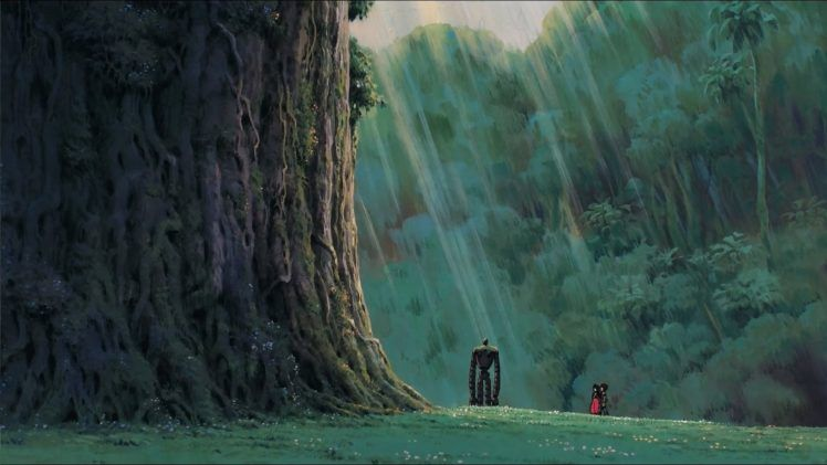 Studio Ghibli Castle In The Sky Robot Anime Hd Wallpaper Desktop Background Castle In The Sky Studio Ghibli Studio Ghibli Background