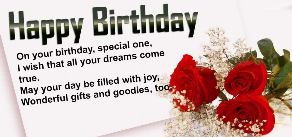 Best 50 Birthday Wishes For Someone Special The 20 Best Ideas For
