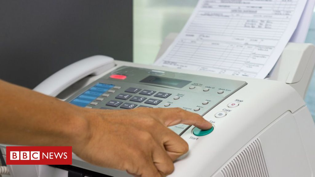 Nhs Told To Ditch Absurd Fax Machines Fax Machine Uk Health