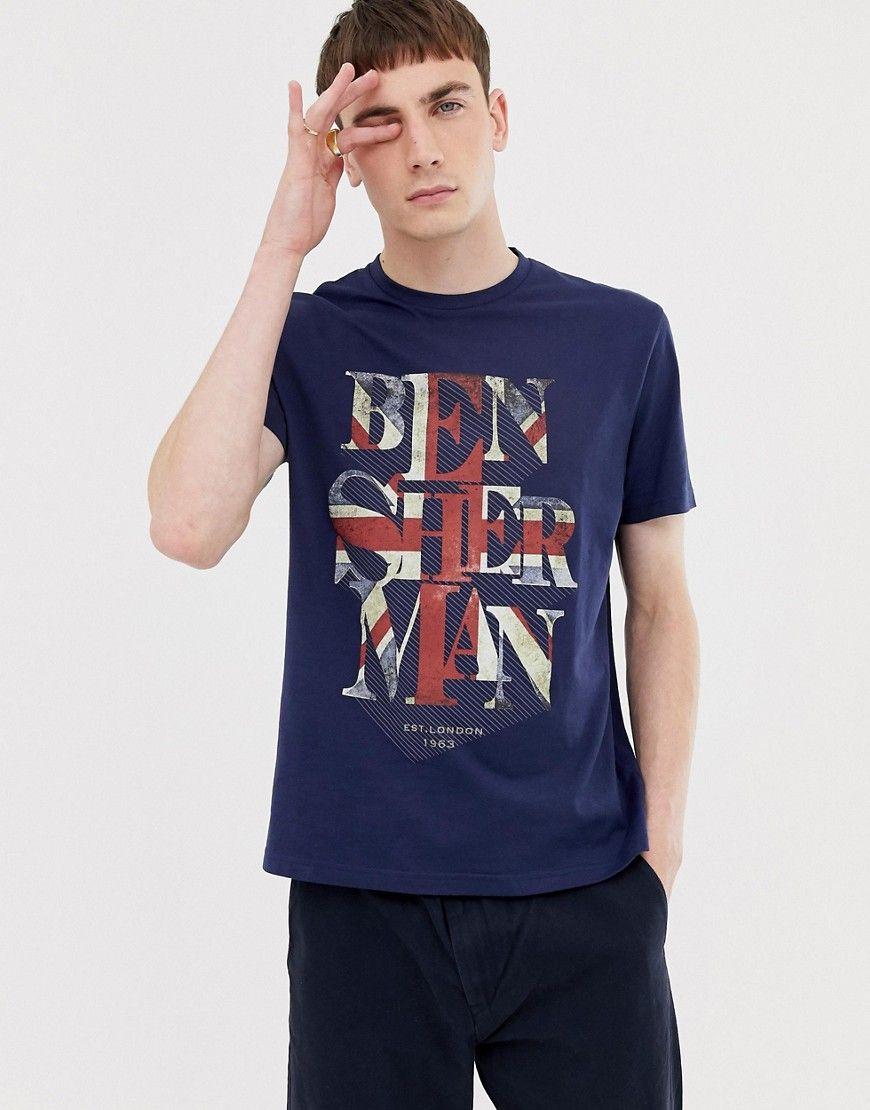 Union Jack T Shirt Navy Union Jack Tshirt Shirts Flag Outfit