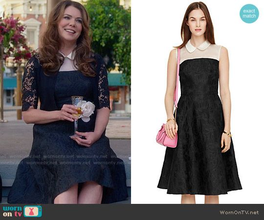4755036f146ff8 Lorelai s wedding dress on Gilmore Girls  A Year in the Life. Outfit  Details