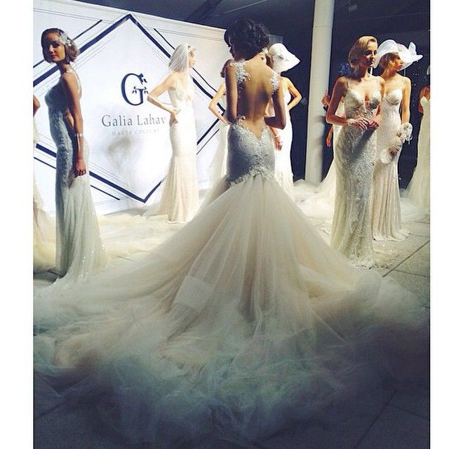 @side_of_awkward you caught an amazing shot! Live from Bridal Market New York! #galialahav #Padgram
