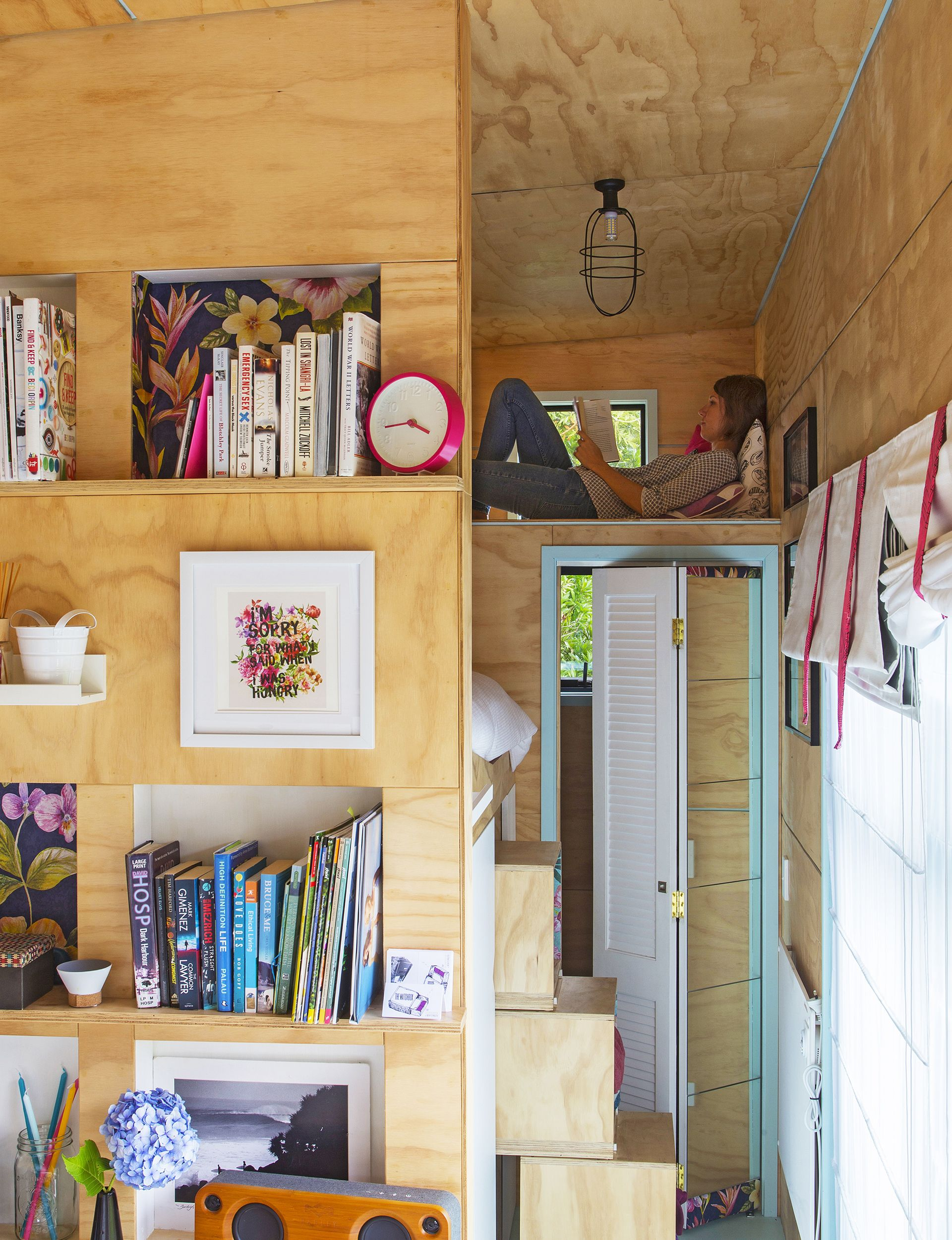 D life home interiors a house the size of a shipping container has everything its owners