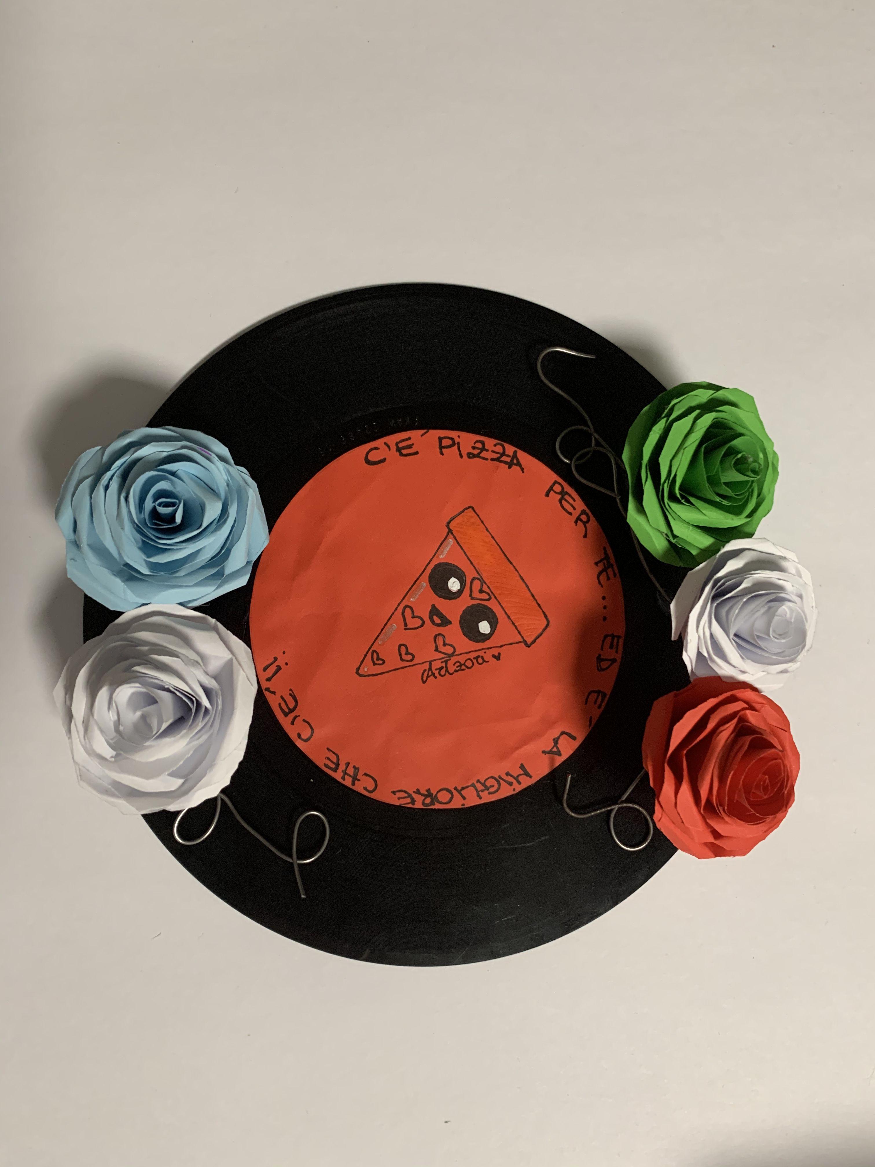 Appendere 33 Giri delizioso disco vinile da 33 giri,personalizzato e reso