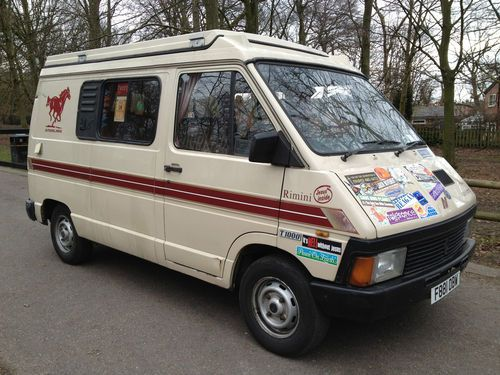 renault trafic pop top autosleeper campervan 1989 ebay. Black Bedroom Furniture Sets. Home Design Ideas