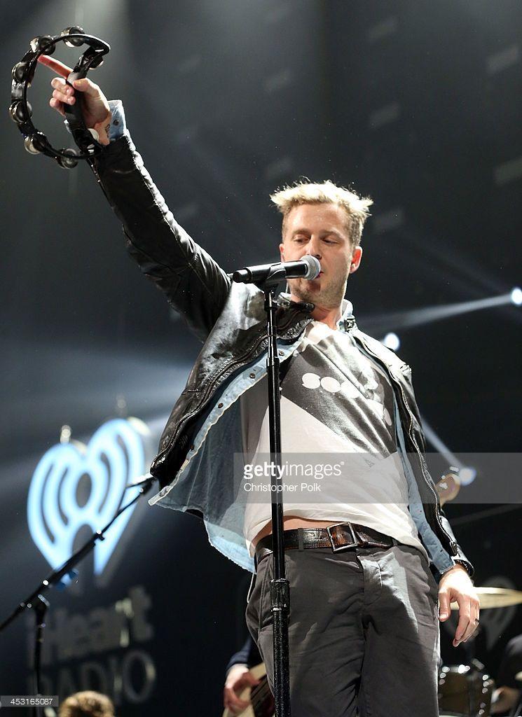 Recording Artist Ryan Tedder Of Onerepublic Performs Onstage