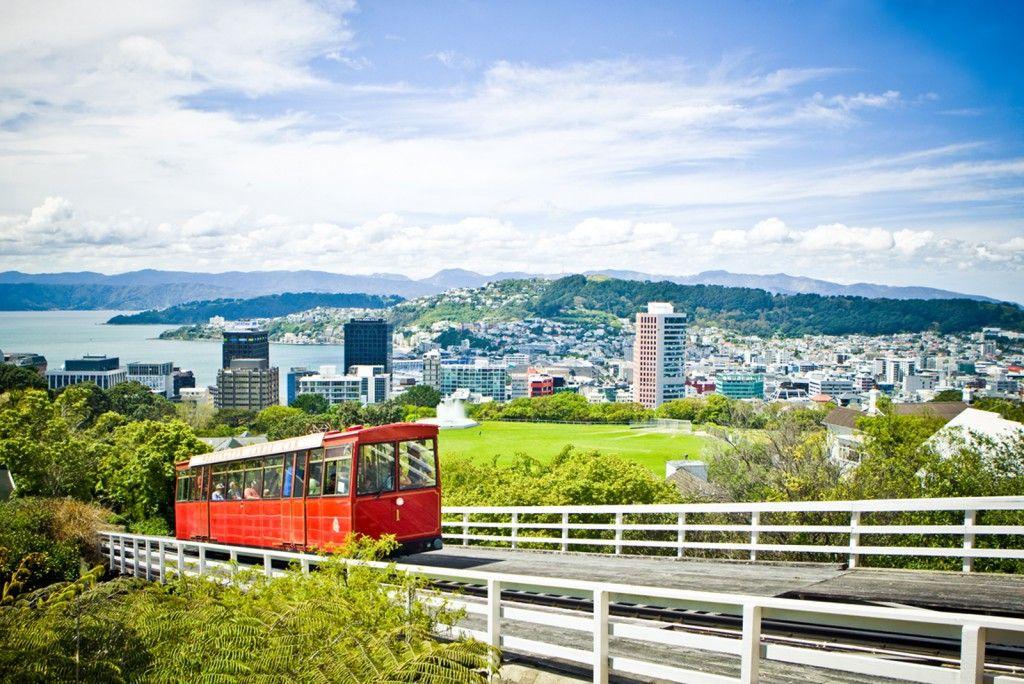 Wellington Cable Car City New Zealand Travel Maps Plan