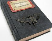 Witch's Spell Book - Halloween Decor - Recycled Book